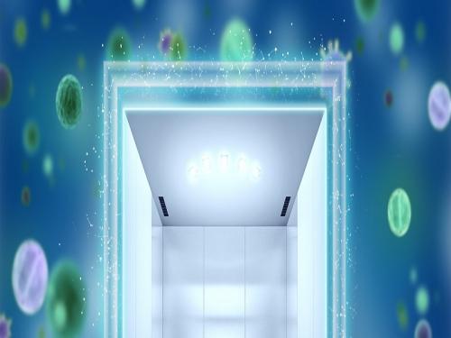 Corona virüsün asansörlerde yayılımını gösteren similasyon yapıldı