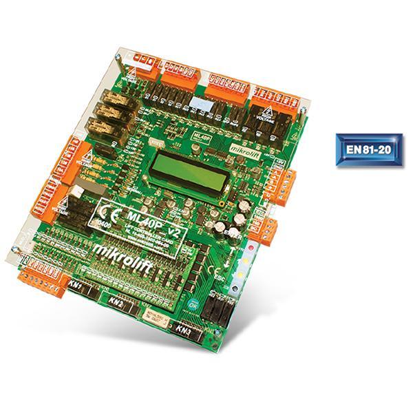 Mikrolift Ml40p Kontrol Kartı