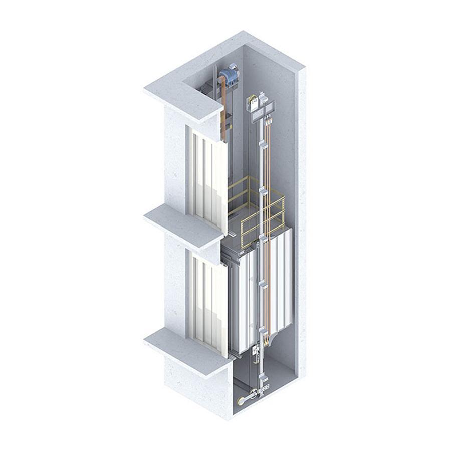 Yeterlift Monolift Asansör Sistemi